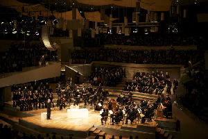 St. Matthew Passion; Berlin Philharmonic; Simon Rattle, conductor; Peter Sellars, director